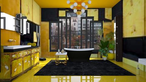 Art Deco Bathroom - Eclectic - Bathroom  - by kitty