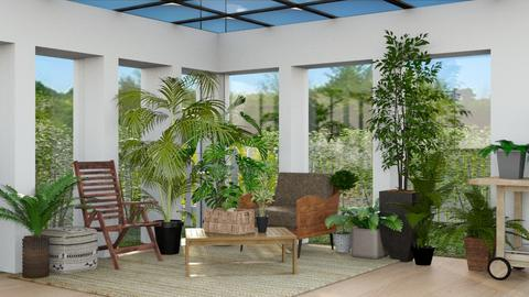 Sun Room - Modern - Garden  - by CitrusSunrise