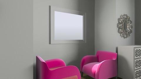 GrayPink - Modern - Bedroom - by NovelHomeDesign