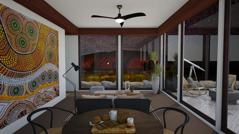 Australian Outback Retirement - Rustic - Bedroom  - by SunflowerStudios