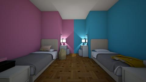 The Two Way Bedroom - Bedroom - by ESLB