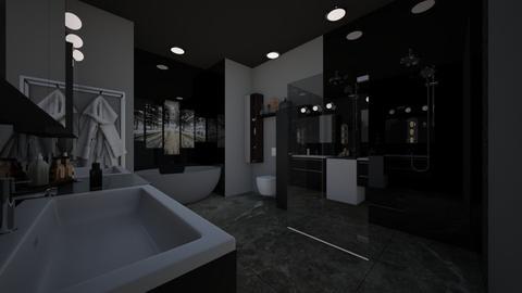 dark bathroom - Bathroom - by blackdaisies