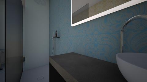 Els Davis - Bathroom  - by highgarden