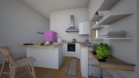 besa s nyc apartment - Kitchen  - by besa01