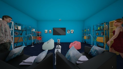 Ma cave - Eclectic - Kids room  - by kyle gratto
