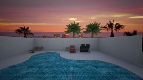 Hollywood Pool - Garden  - by mspence03