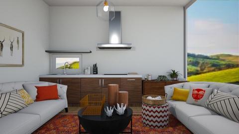 Living_kitchen - by Doraisthe_nameofmydoggo12345