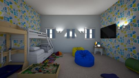 boys room - Kids room  - by 24dozakiy