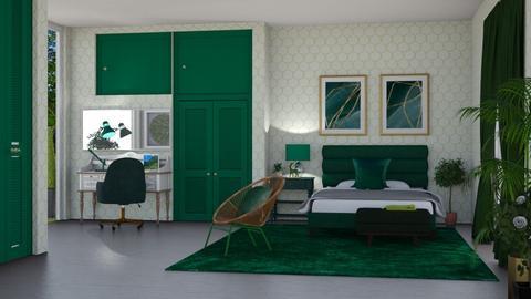 sage - Bedroom  - by nat mi