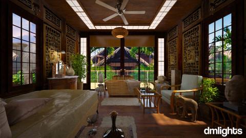 Bali - Eclectic - Bathroom  - by DMLights-user-981898