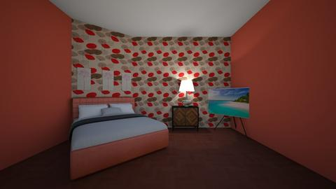 Red as Red - Bedroom  - by Its hamzah