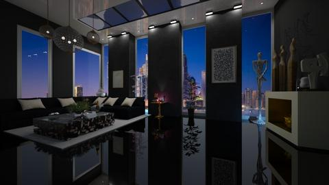hall - Modern - Bathroom  - by vallequeen