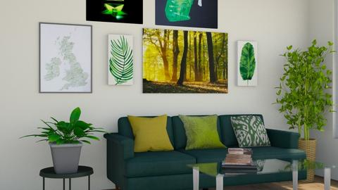 Gween - Living room  - by nkanyezi