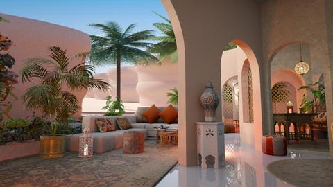Pearl of the desert - Modern - Living room  - by ZsuzsannaCs