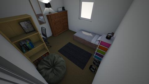 Bedroom - Modern - Bedroom  - by ashleighsmth