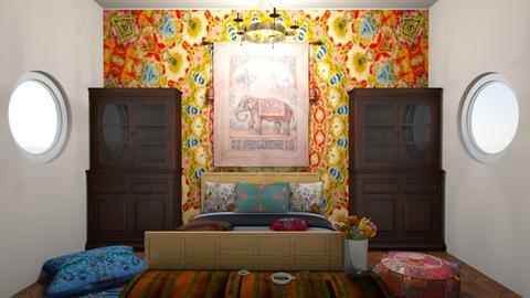 Indian - Bedroom  - by Doraisthe_nameofmydoggo12345
