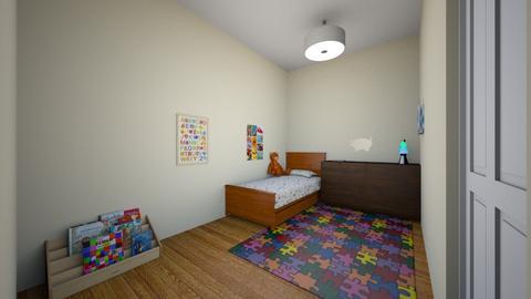 Kid room 01 - Classic - Kids room  - by muleok