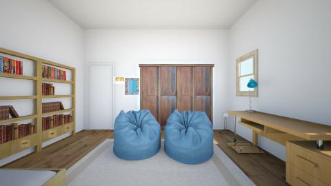 Anahita Room - Retro - Bedroom - by hitahita13