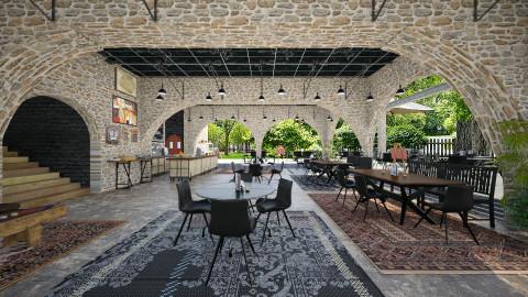 Pavilion Cafe - Vintage - by user_5503635