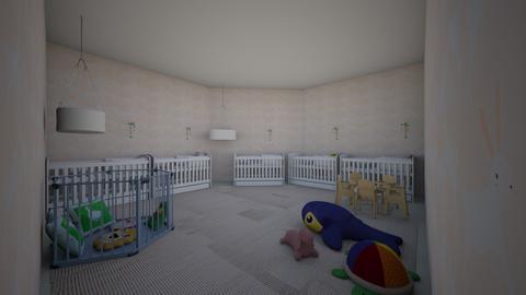 GUARDERIA - Kids room  - by kkconojos
