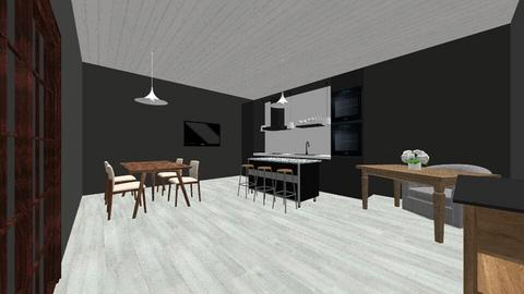 Facs Project - Modern - Kitchen  - by joeeeeeeeee