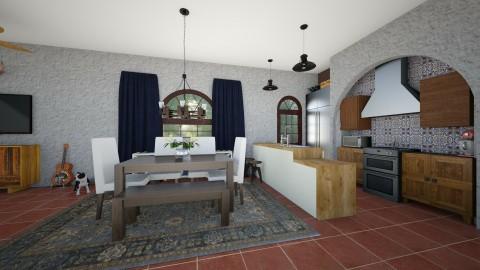 spanish - Kitchen  - by cmucklane