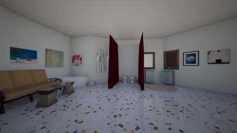 luxury sister bathroom - Bathroom  - by kitty_desiner