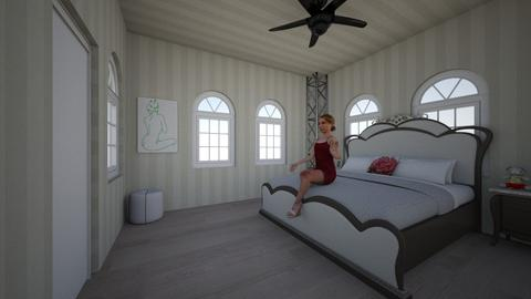 dorian bedroom - Bedroom - by Percilla Dyke
