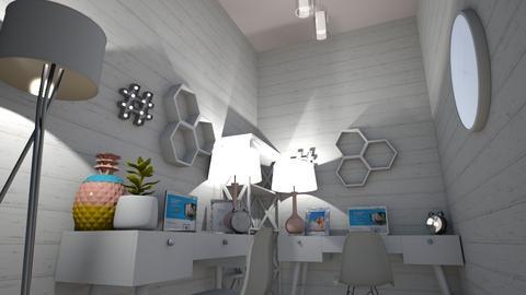 Girls Office - Modern - Office  - by designer408340284