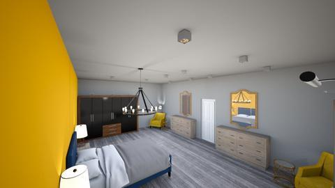 autumn bedroom  - Classic - Bedroom  - by cass271103