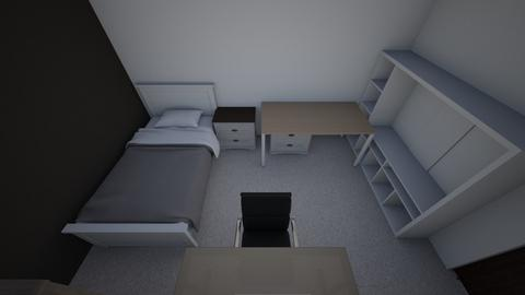 mi cuarto - Modern - Bedroom  - by jaredcorrales