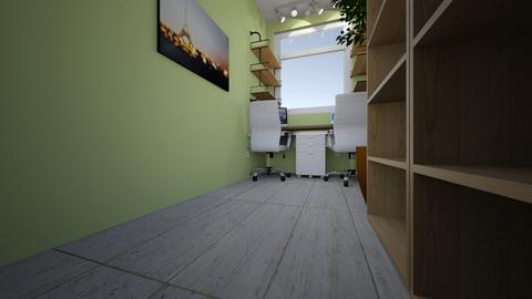 Estudio vacio - Office  - by dviedma