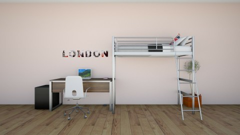 life - Modern - Kids room  - by Lou Rizzo