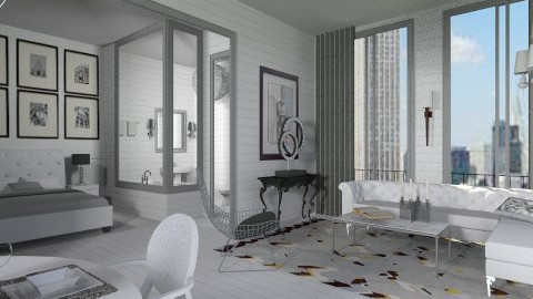 City Suit - Eclectic - Living room  - by AlSudairy S