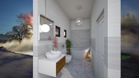 Glam bathroom - by Camelia Batu