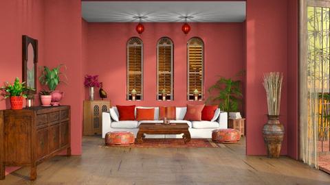 Indian Colours - Living room  - by djoleitaca