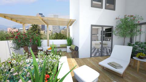 Rooftop - Garden  - by Tuija