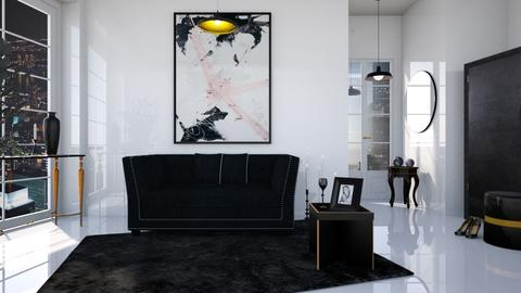 M_ Odessa - Living room - by milyca8