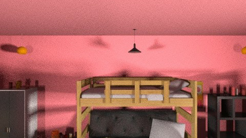 Dream Bedroom - Retro - Bathroom  - by Masqueraderuse