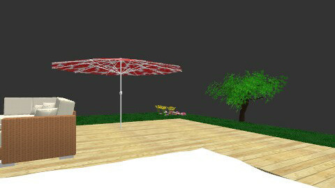 yard - Minimal - Garden  - by natibee19