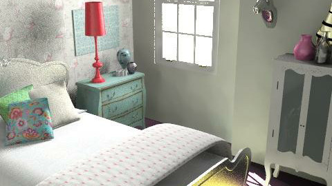 Morshead Mansions8 - Eclectic - Bedroom  - by pia