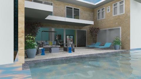 aqua villa - Modern - Garden  - by nyusz