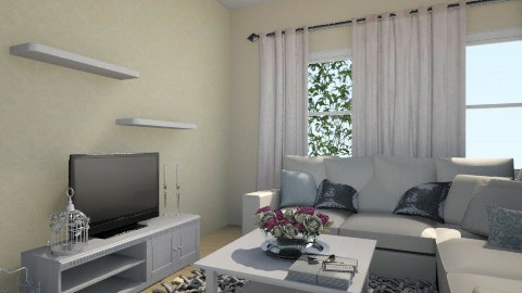 Living room 1 - Vintage - Living room  - by Marinadj
