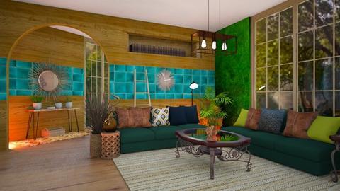 Living Room - by Feeny