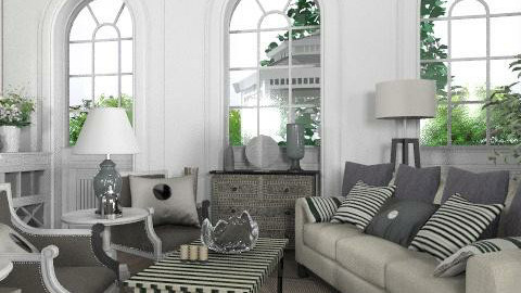 Chanel - Glamour - Living room  - by laurawoodley