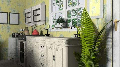Kitchen 2 - Country - Kitchen  - by KViaene
