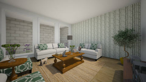 Verde Lar - Rustic - Living room  - by Brendha Cavalcanti_551