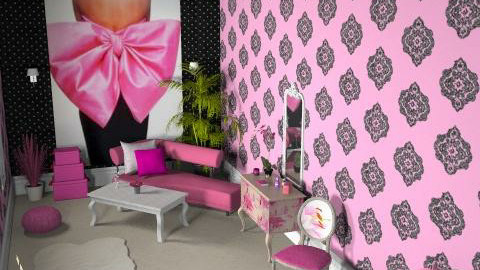 pink to make the boys wink - Glamour - Bedroom  - by K_White