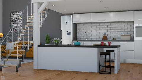 Loft - Kitchen - by lovedsign