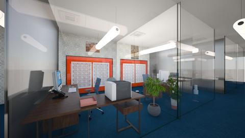 Social Distance Office - Modern - Office  - by Buffy7